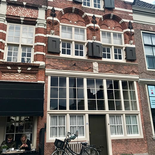 Beautiful architecture in Dordrecht, Holland from teh Telescope Style blog.