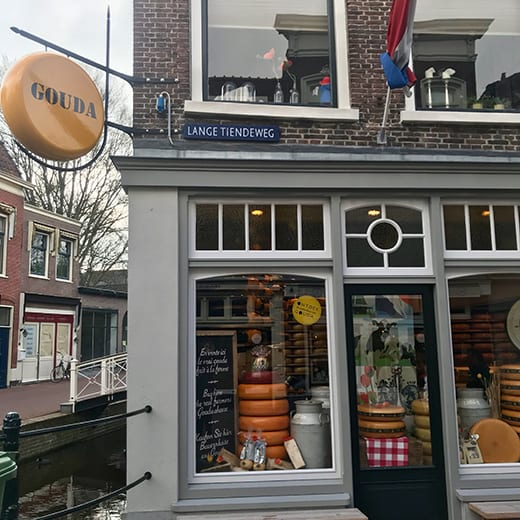 A cheese shop in Gouda, Telescope Style blog.